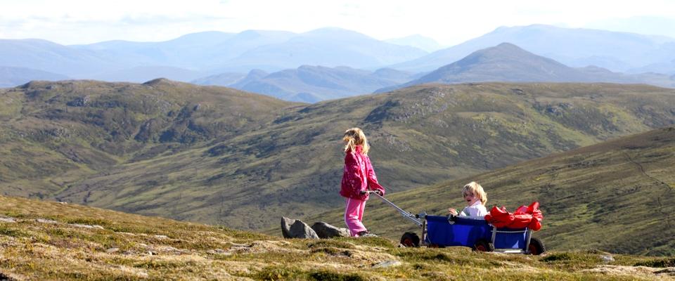 ulfBo in den schottischen Highlands