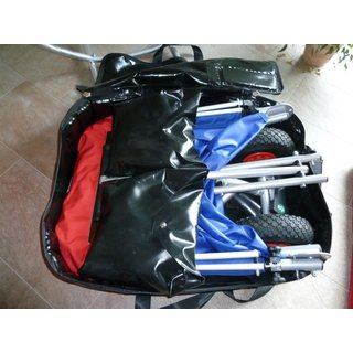 flight bag black
