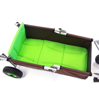 ulfBo comfort green with cushion set and parking brake